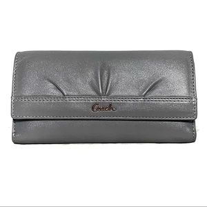 Coach Large Checkbook Wallet